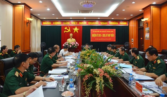 Bầu bổ sung 2 Phó Chủ nhiệm Ủy ban Kiểm tra Quân ủy Trung ương