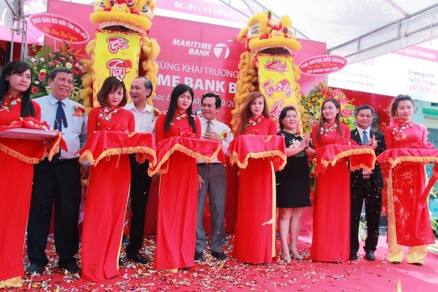Maritime Bank khai trương chi nhánh Bạc Liêu