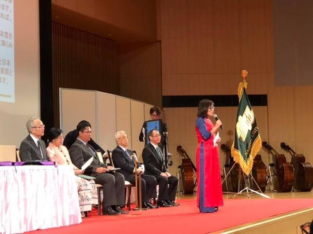 Thứ trưởng Bộ Tư pháp Đặng Hoàng Oanh được Đại học Nagoya trao Giải Cống hiến xây dựng và phát triển quan hệ hợp tác quốc tế