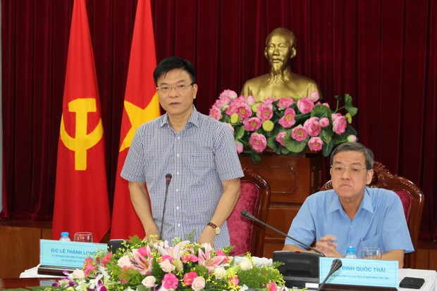 """Bộ trưởng Lê Thành Long làm việc tại Đồng Nai: """"Tư pháp phải là người """"gác cửa"""" sáng suốt"""""""