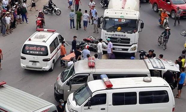 Bị xe bồn cán qua người, một phụ nữ tử vong