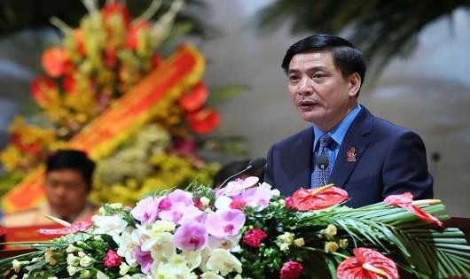 Bầu được 161 Ủy viên BCH Tổng Liên đoàn Lao động Việt Nam khóa XII  