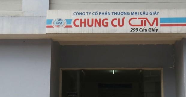 Chung cư CTM 299 Cầu Giấy: Dân bức xúc, chủ đầu tư…phó