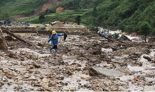 Tích cực khắc phục hậu quả mưa lũ tại Lai Châu