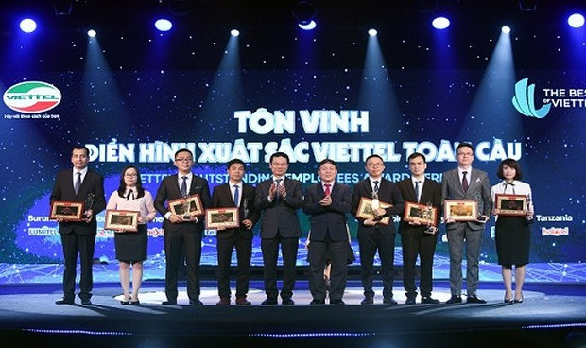 Cá nhân xuất sắc được Viettel tặng thưởng tới 200 triệu đồng