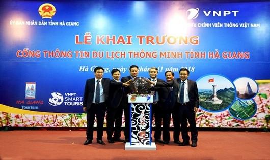Chính thức khai trương cổng thông tin du lịch thông minh tại Hà Giang, Cao Bằng