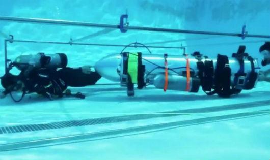 Tỷ phú đề xuất sử dụng tàu ngầm nhỏ để giải cứu đội bóng Thái Lan