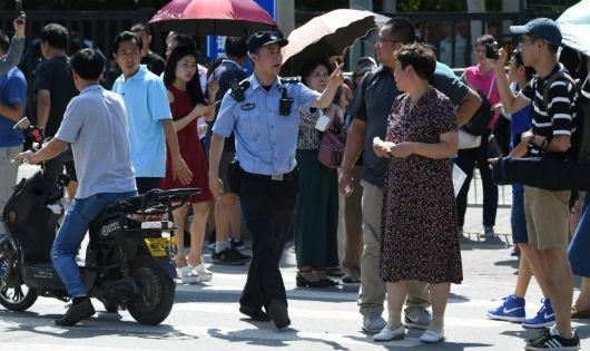 Nổ gần đại sứ quán Mỹ tại Trung Quốc