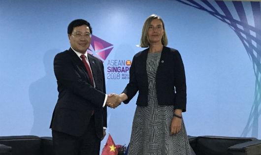 Đề nghị EU xem xét sớm gỡ bỏ 'thẻ vàng' đối với thủy sản Việt Nam