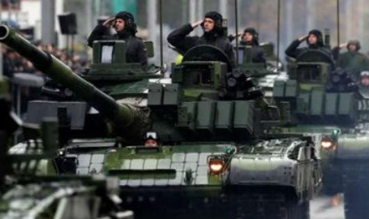 Séc diễu binh lớn nhất lịch sử kỷ niệm 100 năm ngày nước Tiệp Khắc ra đời