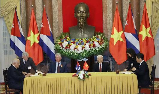 Việt Nam – Cuba phấn đấu kim ngạch thương mại 500 triệu USD vào năm 2022