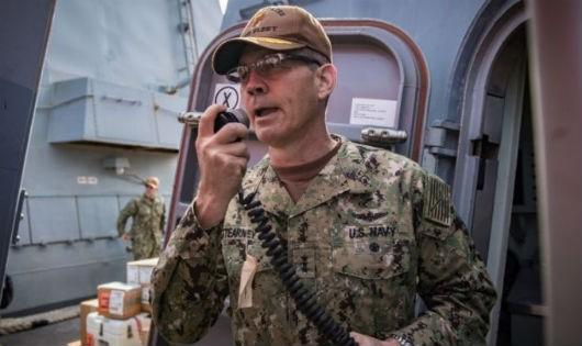 Mỹ điều tra vụ Tư lệnh hạm đội tại Trung Đông đột ngột qua đời