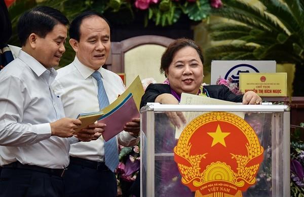 Bà Nguyễn Thị Bích Ngọc được đại biểu HĐND TP Hà Nội tín nhiệm cao nhất
