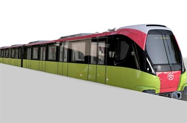Tàu đô thị tuyến Nhổn – Ga Hà Nội do Pháp sản xuất
