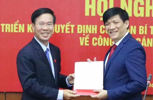 Ông Nguyễn Thanh Long giữ chức Phó Trưởng ban Tuyên giáo Trung ương