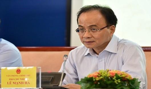 Kỷ luật Nguyên Phó Chủ nhiệm Văn phòng Chính phủ Lê Mạnh Hà