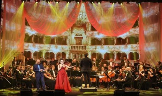 Bất ngờ Nữ hoàng Opera hát Bolero cùng dàn nhạc giao hưởng