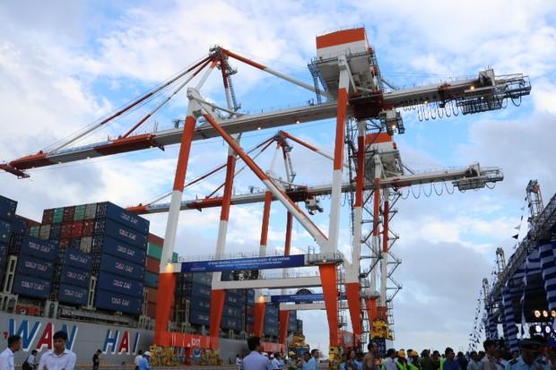 Khai trương Cảng thuộc Dự án Cơ sở Hạ tầng Cảng Quốc tế Lạch Huyện