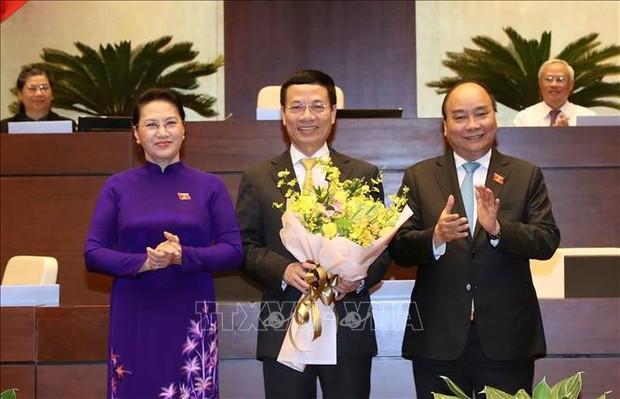 Ông Nguyễn Mạnh Hùng được phê chuẩn làm Bộ trưởng Bộ Thông tin và Truyền thông