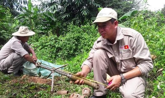 Xử lý an toàn 463 đầu đạn pháo, bom chưa phát nổ tại huyện vùng biên Quảng Trị