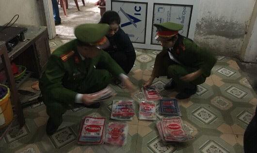 Hà Tĩnh: Phát hiện cơ sở sản xuất, kinh doanh mì chính giả