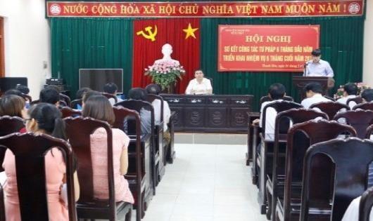 Ngành Tư pháp Thanh Hóa sơ kết 6 tháng đầu năm