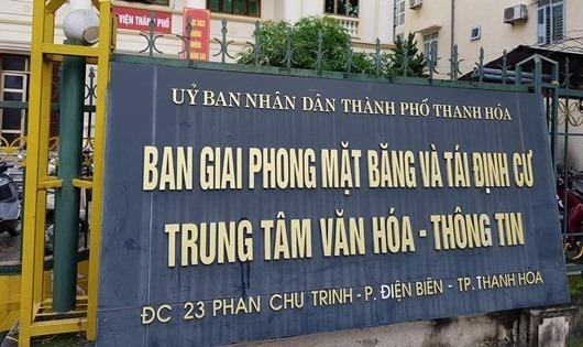 """Ban GPMB TP Thanh Hóa: Quyết định khó hiểu """"đẩy"""" nhà thầu, lãng phí tiền tỷ"""