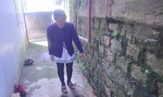 Lâm Đồng:  Xây nhà trên bờ ta luy xuống cấp, đe dọa tính mạng người dân