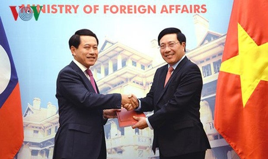 Việt – Lào trao đổi 2 văn kiện pháp lý quan trọng về biên giới