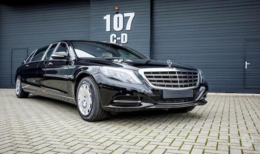 Chiêm ngưỡng vẻ long lanh Mercedes-Maybach S600