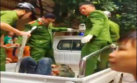 Thanh Hóa: Công an nổ súng cứu một phụ nữ bị kẻ ngáo đá khống chế