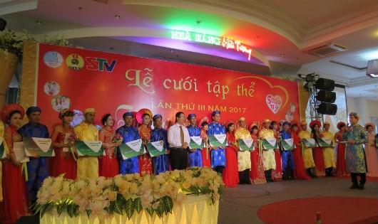 Lễ cưới tập thể lần thứ 3 tại Sóc Trăng