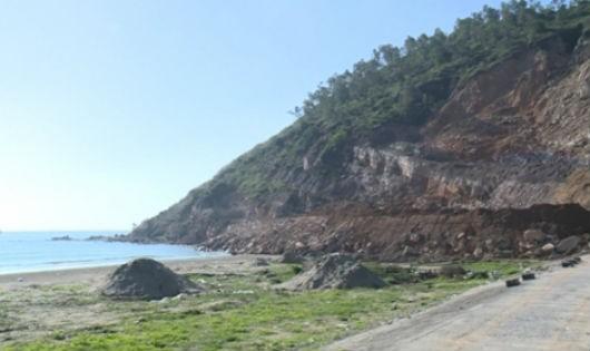 Tĩnh Gia (Thanh Hóa): Báo động tình trạng san ủi, phá núi ở xã Hải Thanh