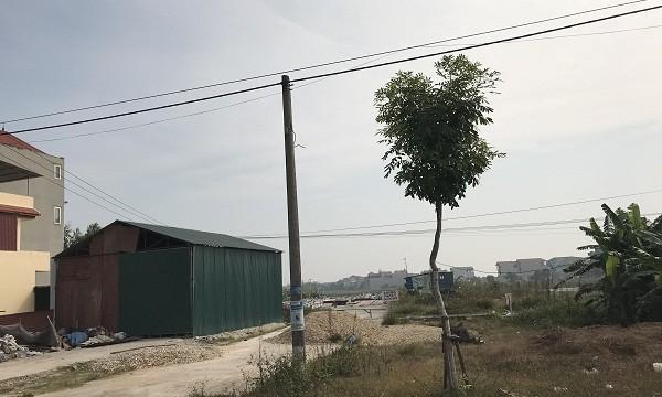 """Yên Lạc (Vĩnh Phúc): Ai """"bảo kê"""" cho một hộ dân dựng nhà tôn trái phép trên đất dự án?"""