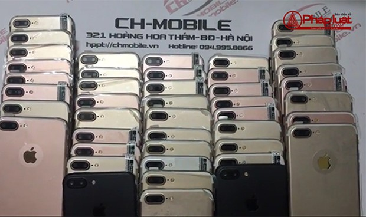 Chmobile phân phối hàng trăm sản phẩm nhái