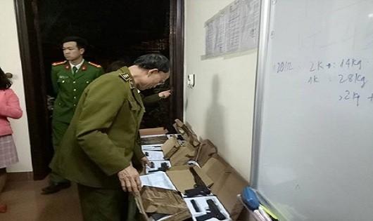 Hà Nội: Phát hiện 108 khẩu súng ngắn gây sát thương
