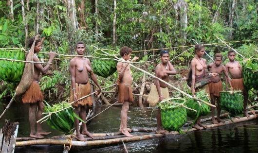 Kỳ lạ bộ lạc duy nhất không sống ở... mặt đất