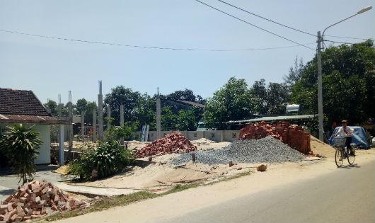 Quảng Nam: Hàng trăm hộ dân có nguy cơ trắng tay vì tranh thủ xây nhà trên đất quy hoạch