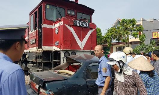 Chủ tịch Hội khuyến học huyện Lạng Giang tử nạn vì bị tàu hỏa đâm