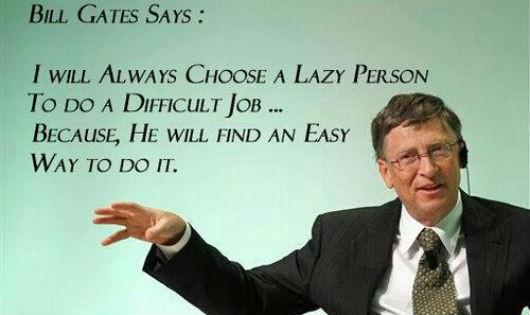 """Cơ duyên trời định và những """"mánh lới"""" của Bill Gates"""