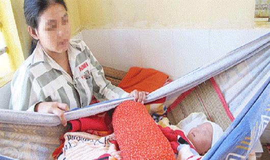 Chế độ cho trẻ dưới 36 tháng ở cùng mẹ bị tạm giữ, tạm giam