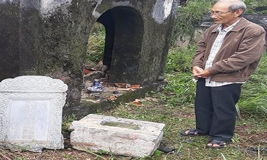Báo động tình trạng xâm hại mộ cổ