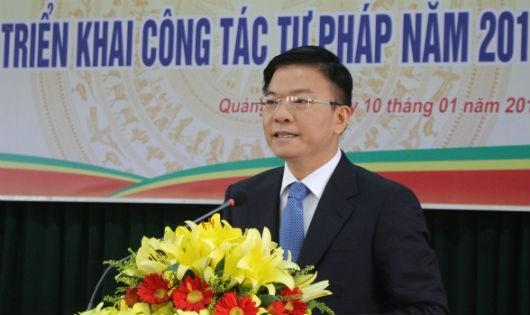 Bộ trưởng Lê Thành Long: Tư pháp cần tiếp tục chủ động tham mưu triển khai thi hành các luật mới