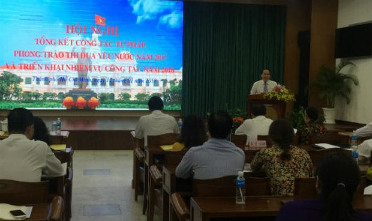 Nhiều kì vọng cho tư pháp TP Hồ Chí Minh trong năm 2018