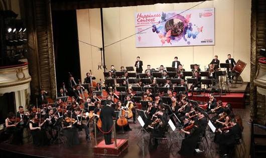 Giai điệu xuân tràn ngập 'Happiness Concert by Acecook Vietnam'