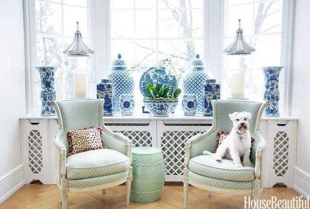 Gợi ý trang trí nhà ngập sắc xanh cho mùa hè dịu mát