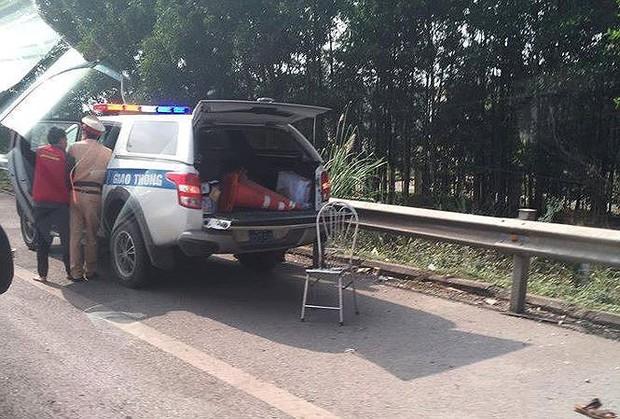 Thái Nguyên: Cảnh sát giao thông bị xe máy đâm đã tử vong