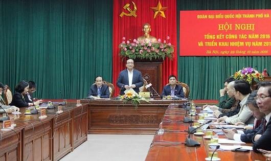 Đoàn đại biểu Quốc hội thành phố Hà Nội triển khai công tác năm 2017