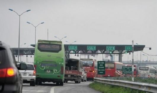 Bắt đầu dỡ bỏ Trạm thu phí Đại Xuyên  trên cao tốc Cầu Giẽ - Ninh Bình
