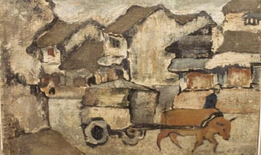 Các tác phẩm tranh Việt lên sàn đấu giá
